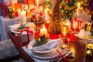 Ideas para decorar la mesa de navidad. Como decorar la mesa en la cena de Navidad con un estilo bien definido