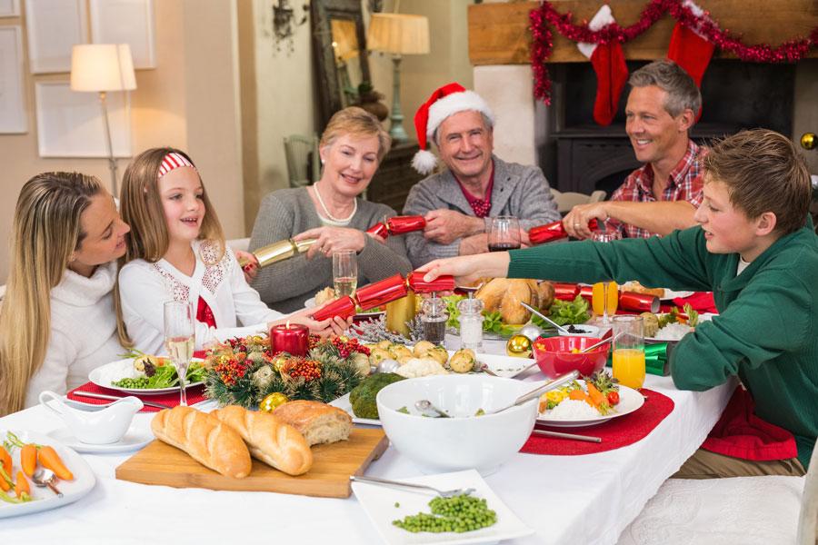 Un buffet para navidad. Preparar un buffet informal para la cena de navidad. Menú simple para hacer un buffet informal