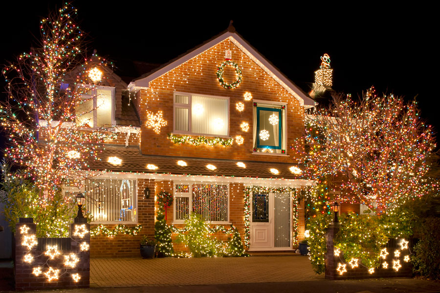 ideas para decorar en navidad exteriores On ideas luces navidad exterior