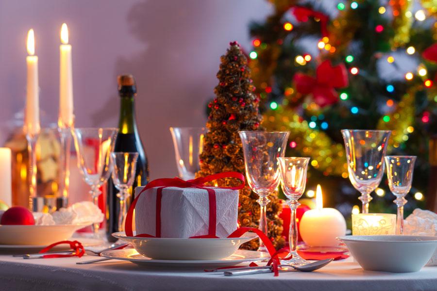 Centros de mesa reciclados para la cena de navidad - Hacer centros de navidad ...