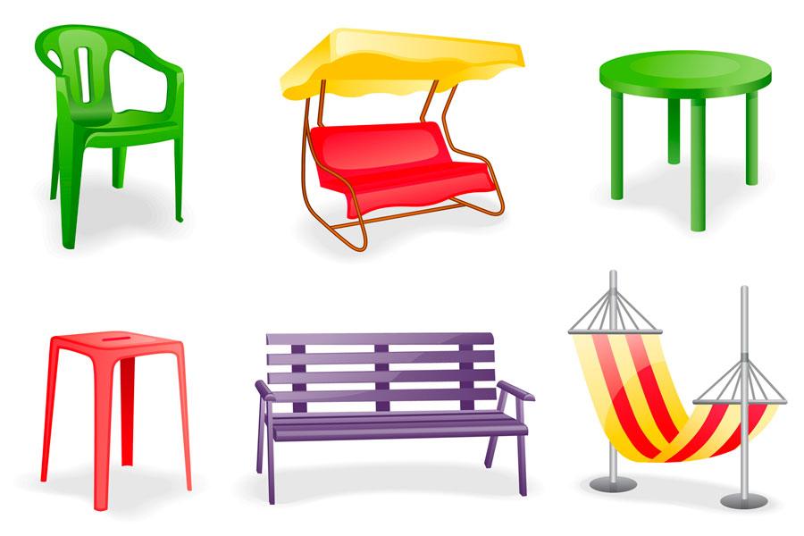 C mo cuidar muebles de jard n - Muebles jardin plastico ...