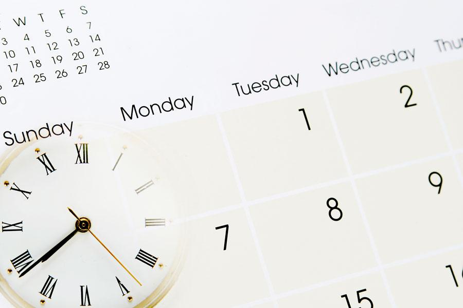 Consejos para Organizar las Actividades del Año