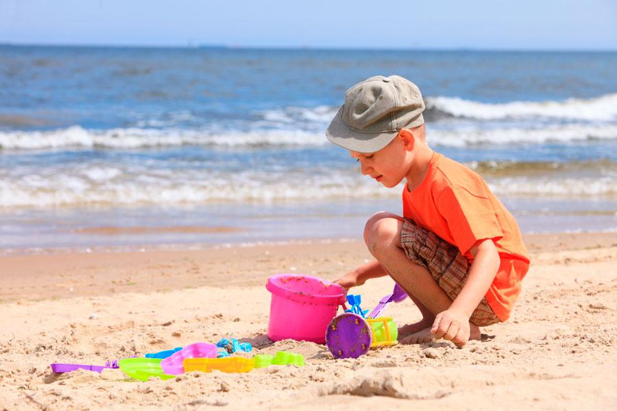 Cómo cuidar a los Niños en la Playa
