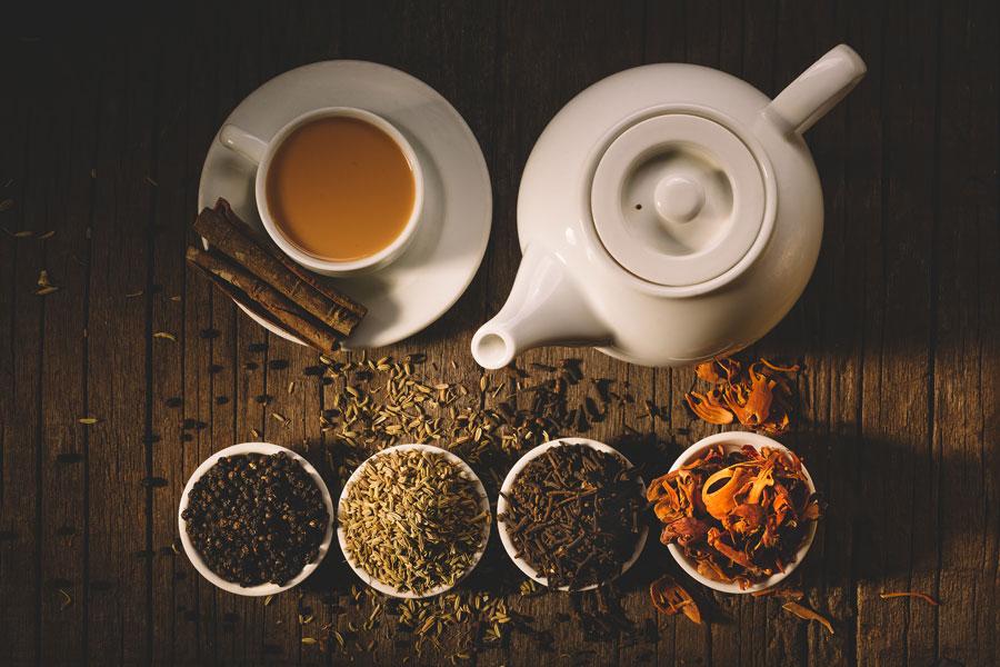 Cómo hacer Té Casero Saborizado. Té saborizado con hierbas. Como preparar un té con hierbas