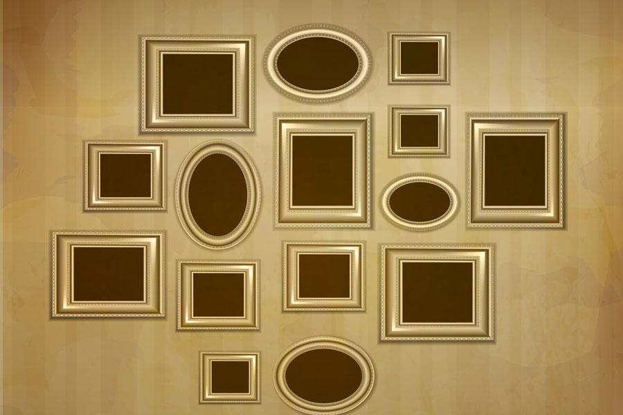 Consejos para distribuir los Cuadros en una Habitación. Como colocar los cuadros en la pared