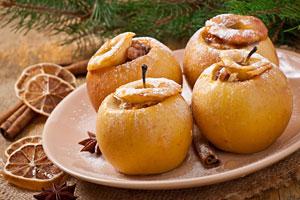 Manzanas al Horno. Receta para hacer manzanas