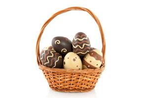 Receta para preparar Huevos de Pascuas rellenos de Helado