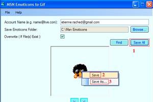 Cómo guardar los Emoticonos del Windows Live Messenger