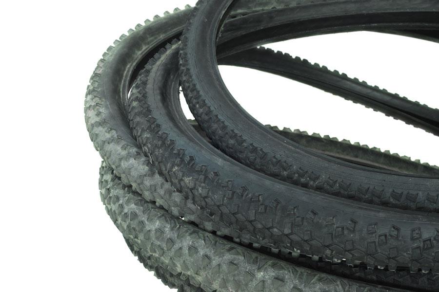 Cómo reutilizar las ruedas de las bicicletas