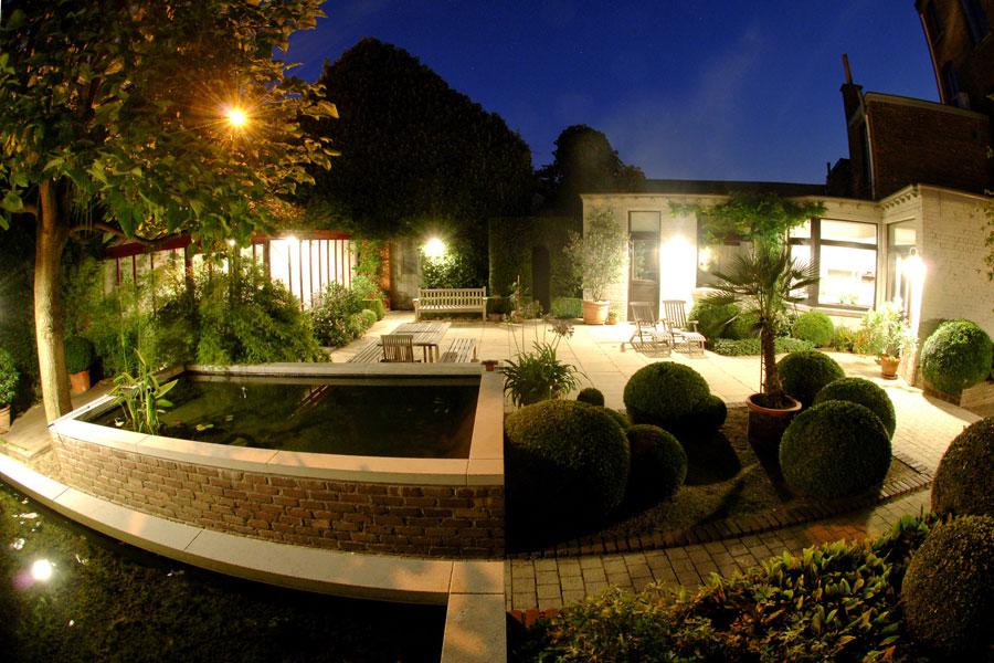 Cómo iluminar el patio