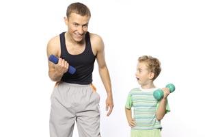 Cómo volver más activos a los niños