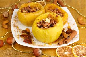 Cómo preparar manzanas asadas en microondas