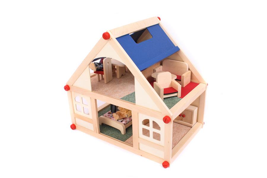 Cómo hacer una casa de muñecas