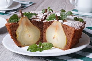 Recetas de postres para hacer con peras. Cómo preparar postres utilizando peras.