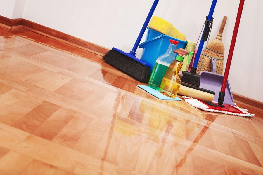 Cómo cuidar los pisos y escalones