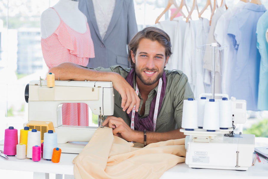 Cómo coser a máquina con conos de hilo