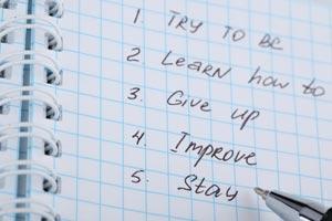 Cómo proponernos nuevas metas