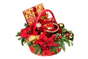 Cómo armar canastas de Navidad para regalar