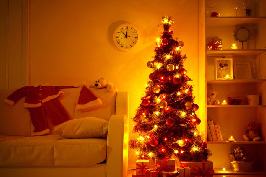 Cómo hacer luces originales para el árbol de Navidad