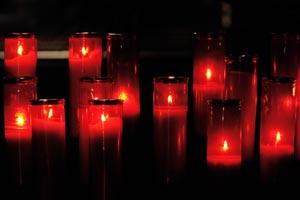 Cómo hacer velas de noche para adornar en Navidad