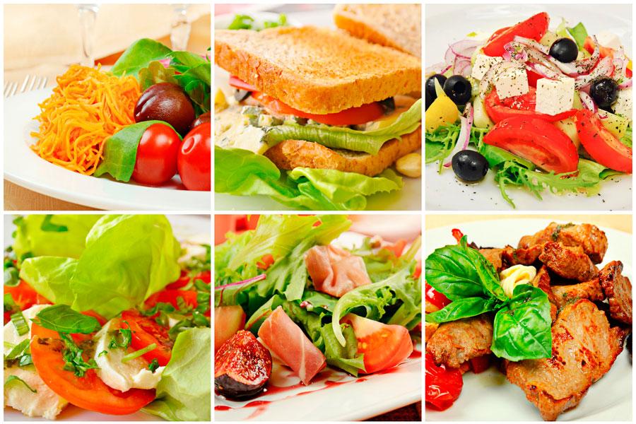 Opciones para llevar viandas saludables al trabajo. Consejos para elegir un menu de viandas semanales. Qué comer en el trabajo?