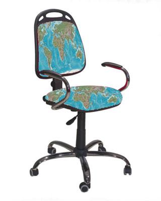C mo tapizar una silla para una sala de estudio o trabajo - Como forrar una silla de escritorio ...