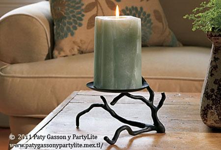 C mo hacer un candelabro con una simple rama - Como hacer candelabros ...