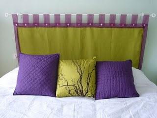 C mo hacer un cabecero con telas - Telas para forrar cabecero cama ...