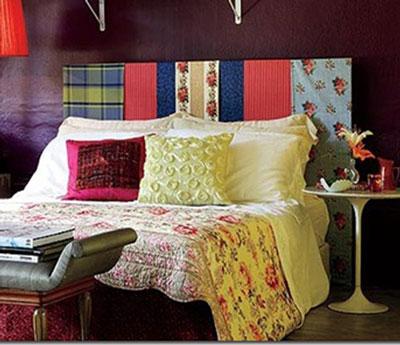C mo hacer un cabecero con telas - Como hacer un cabecero de cama economico ...