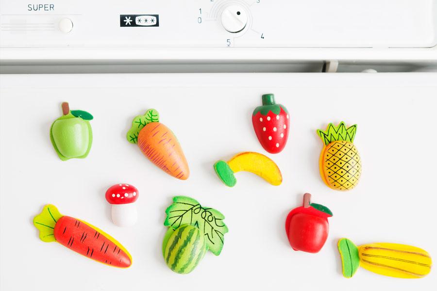 Ideas originales para hacer tus propios imanes para la nevera. Cómo crear imanes personalizados para la pegar en la heladera.