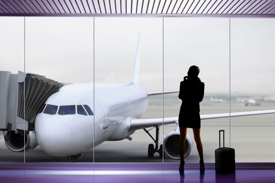 Cómo comportarse en un aeropuerto