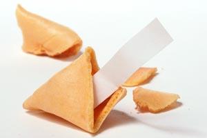 Cómo hacer frases divertidas para las galletas de la fortuna