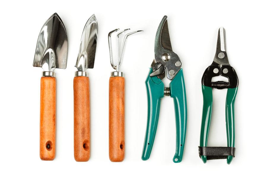 Cómo cuidar las herramientas de jardinería