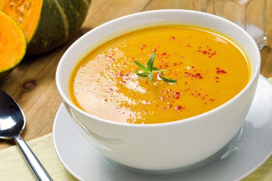 Cómo hacer Sopas cremosas de Zapallos y Calabazas