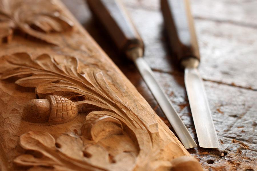 Cómo tallar madera