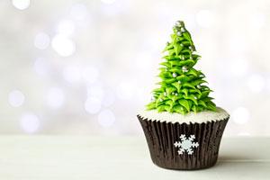 Cómo hacer Cupcakes para Navidad