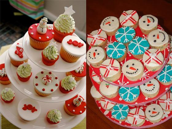 C mo hacer cupcakes para navidad - Hacer magdalenas con ninos ...