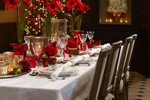 C mo decorar la mesa de fin de a o - Decoracion fin de ano ...