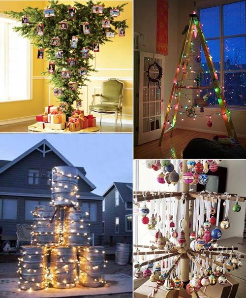 C mo hacer un arbol de navidad diferente for Colgantes para arbol de navidad