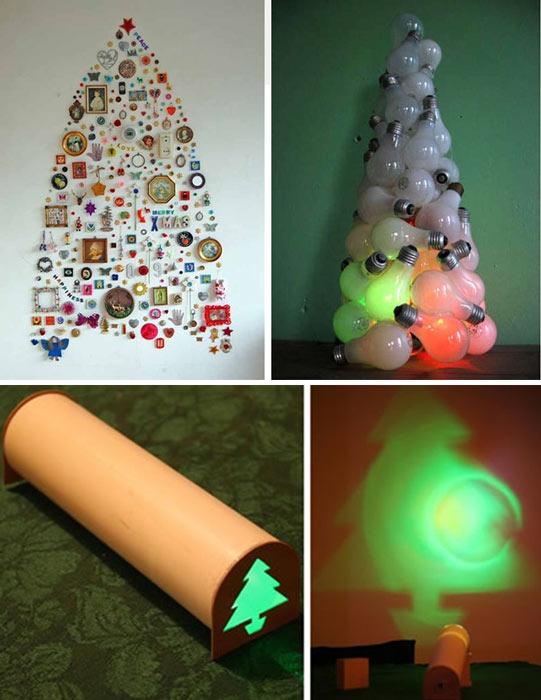 C mo hacer un arbol de navidad diferente - Hacer arbol de navidad original ...