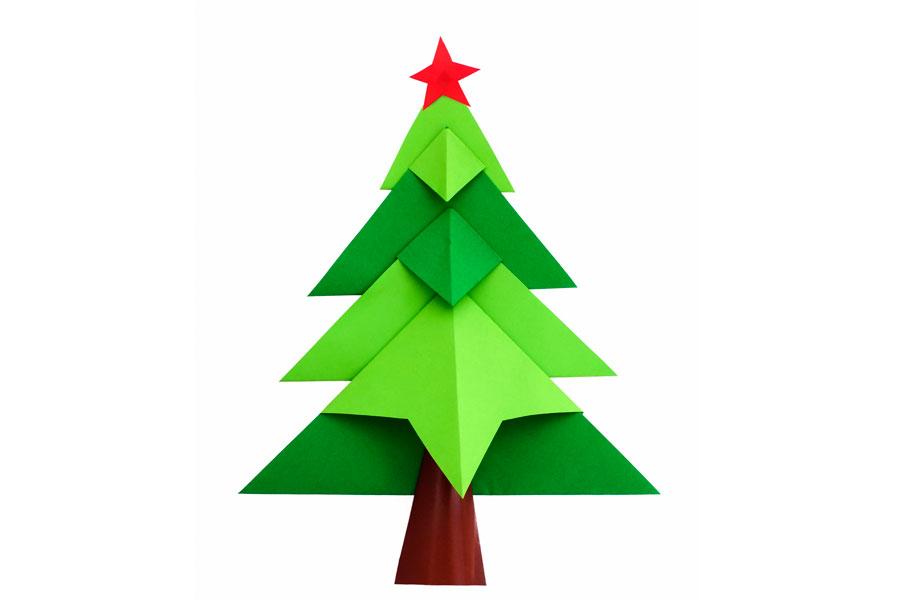 C mo hacer un arbol de navidad diferente - Hacer adornos para el arbol de navidad ...