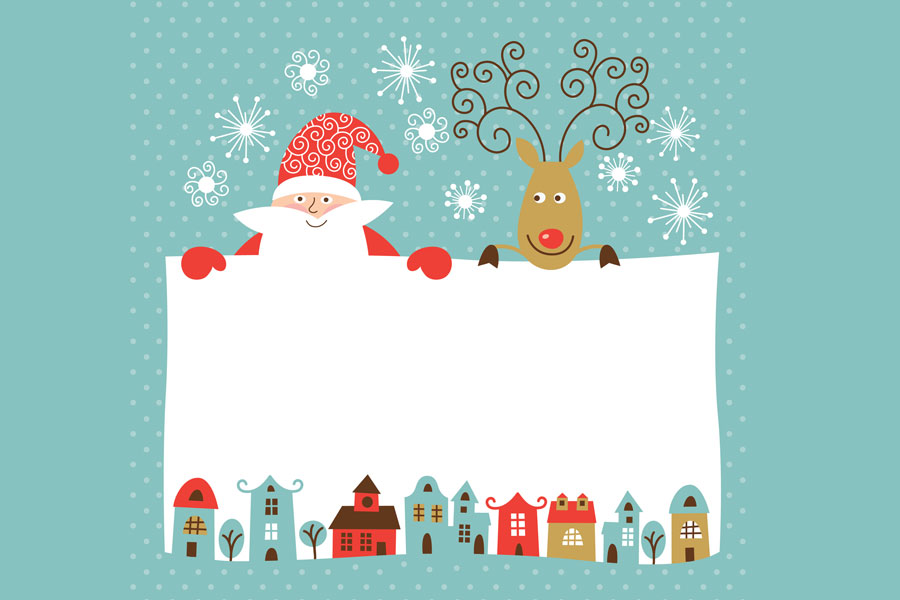 C mo hacer una tarjeta de navidad - Hacer una postal de navidad ...