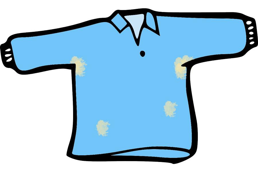 Trucos simples para eliminar manchas de sudor. Cómo quitar las manchas de sudor de la ropa. Tips para eliminar las manchas de sudor de las prendas