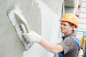 Guia para aprender a revocar una pared. Procedimiento simple para revocar paredes de exterior e interior. Como enlucir paredes con yeso o mortero