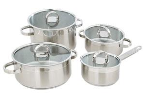 Tipos de ollas para la cocina. Ollas de acero, cobre y otros tipos. Usos y características de las distintas ollas para cocinar