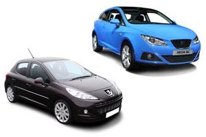 Comparativa Peugeot 207 y Seat Ibiza