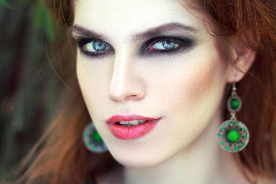 Maquillaje para ojos ahumados