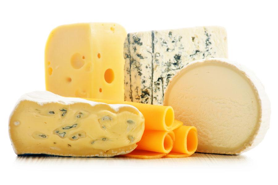 Tipos y propiedades del queso