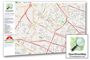 Mapas gratuitos con Open Street Map