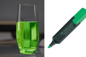 Cómo hacer agua fluorescente